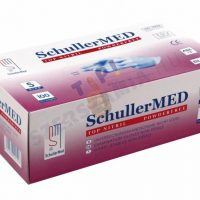 """Schuller Egyszer használatos nitril kesztyű, púdermentes 100 Medstar Nitril PF """"M"""" 100db (49252)"""