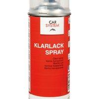 Carsystem Klarlack-Spray strapabíró, színtelen lakk foltjavításhoz 400ml
