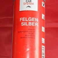 Car system keréktárcsa ezüst spray 400ml